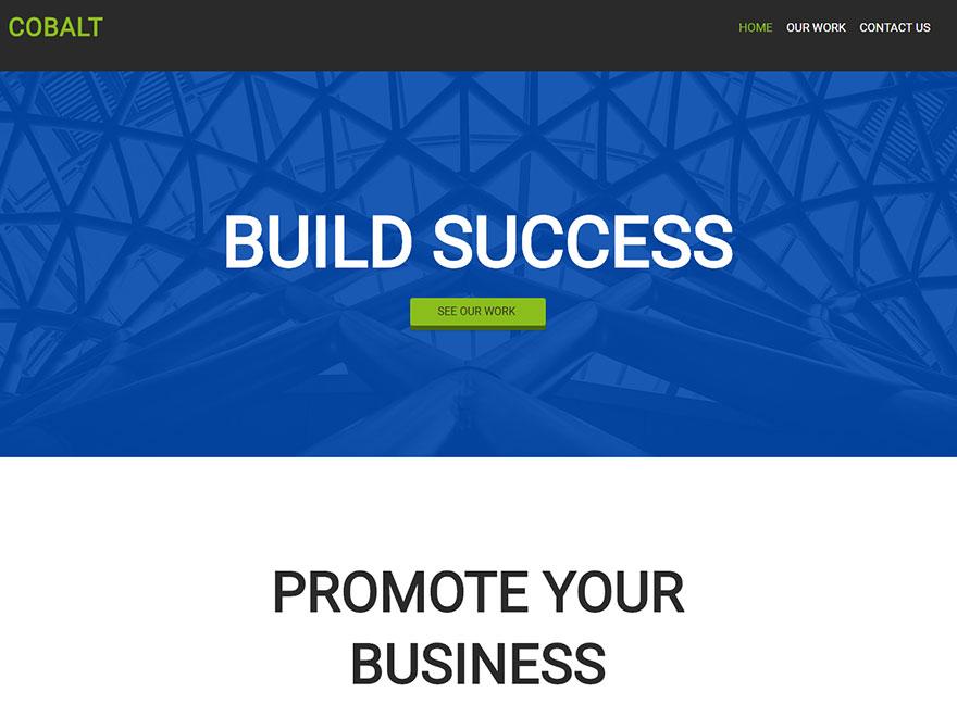 Boldgrid Marketing Theme Example 2