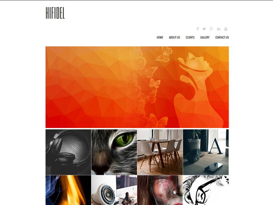 Boldgrid Design Theme Example 1