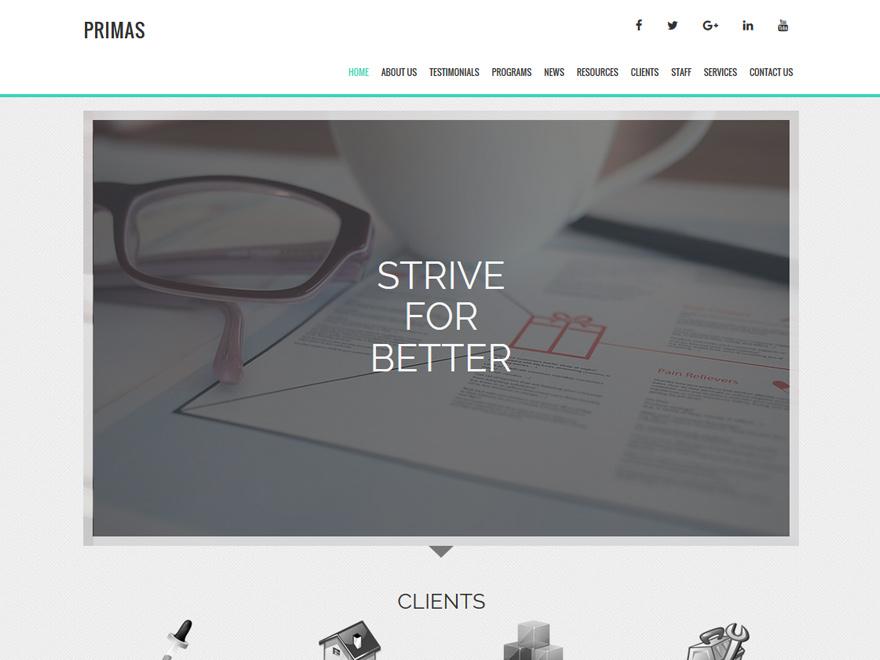 Boldgrid Marketing Theme Example 3