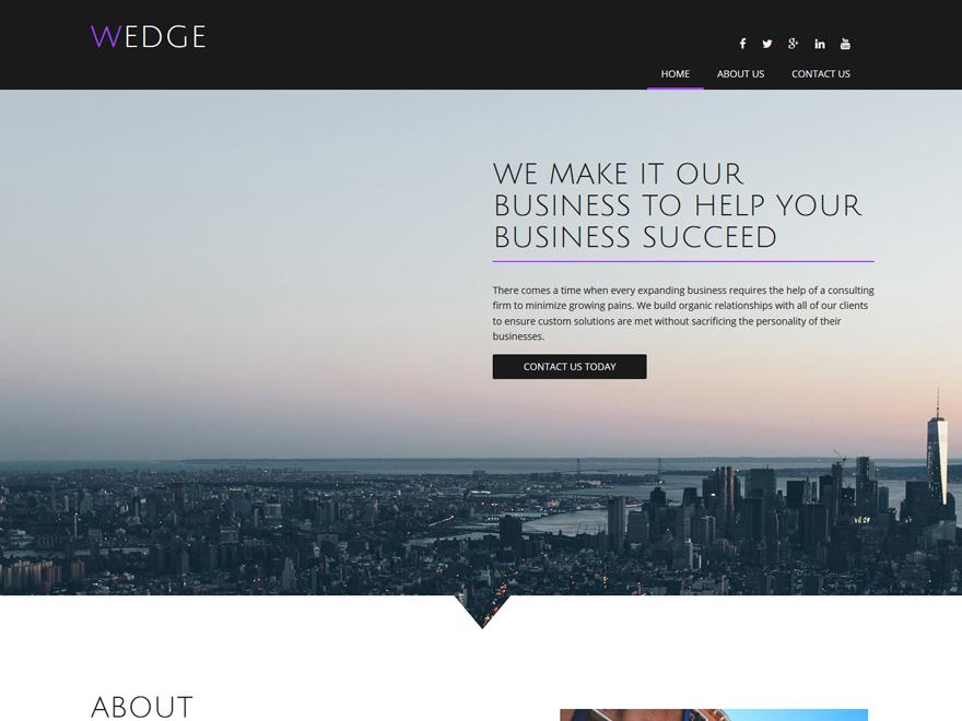 wordpress marketing theme